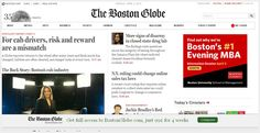 Responsive Websites We Strongly Suggest You Follow! www.bostonglobe.com