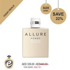 Allure Homme Edition Blanche Chanel Eau De Toilette For Men 50 ml