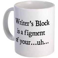 writers block mug #funny #humor #gift