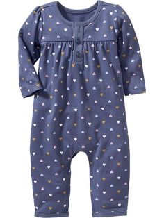 Patterned One-Piece for Baby
