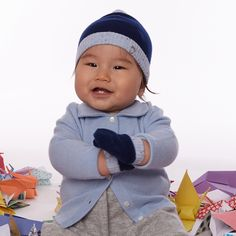 Cuteness overload! Our new baby/toddler cashmere is downy soft and oh so stylish - perfect for your little one!