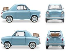 Vespa 400, 1957-1961