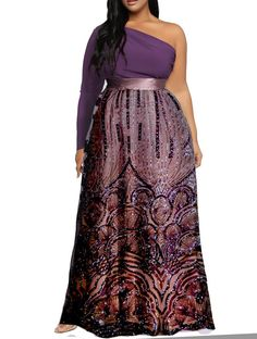 One of countless options for your next dress. #purpledress #purpleprint #fancydress #dress #womensfashion #fashion #dresses #specialoccasion #wedding #custommade #madetomeasure #beauty #beautiful #flowers #gorgeous #dressup #plussize #plussizeclothing #plussizedress  #asymmetrical #oneshoulder  couturme.com Purple Dress, Fancy Dress, Dress Up, Next Dresses, Plus Size Outfits, Beautiful Flowers, Custom Made, Special Occasion, Custom Design