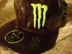 New Era 59FIFTY Monster Energy Drink size 7 1/2 Fitted Hat Authentic