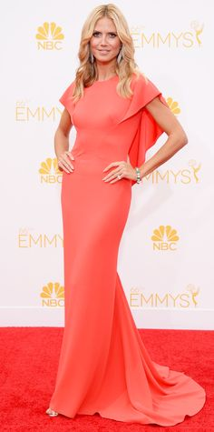 Heidi Klum's Best Red Carpet Looks Ever  - In Zac Posen, 2014  - from InStyle.com