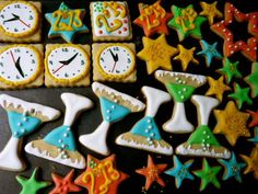 New Year 2013 cookies