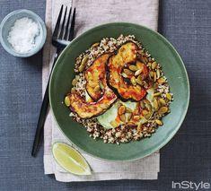 Healthy Fall Recipe:Roast Squash and Quinoa Bowls