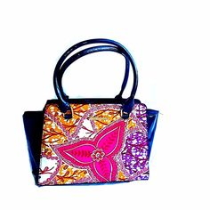 Aisha African Print Bag