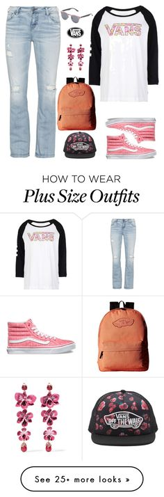 """""""Vans Sk8 Outfit"""" by majezy on Polyvore featuring Vans, Silver Jeans Co. and Etro"""