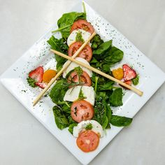 Join us for lunch in the Brasserie today! Menu Items, Caprese Salad, Wines, Join, Lunch, Fresh, Recipes, Eat Lunch, Food Recipes