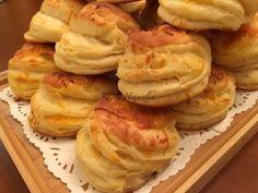 Luca pogácsa | mókuslekvár.hu Bread Dough Recipe, Savory Pastry, Winter Food, Oreo, Dessert Recipes, Food And Drink, Cooking Recipes, Yummy Food, Sweets