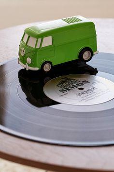 Record Runner Portable VW Bus Vinyl Record Player I WANT THIS SOOO BAD