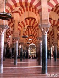 The Mezquita dates back to the 10th century when Córdoba reached its zenith under a new emir, Abd ar-Rahman 111 who was one of the great rulers of Islamic history. At this time Córdoba was the largest, most prosperous cities of Europe, outshining Byzantium and Baghdad in science, culture and the arts. The development of the Great Mosque paralleled these new heights of splendour.