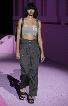 Check out this look from the Marc Jacobs Spring 2015 Runway. #marcjacobslive