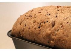 Here's the post I promised–a step by step tutorial on making whole grain seed bread. First up, gather your supplies: Tools 2 8 x 4 loaf bread pans Plastic wrap or cotton kitchen towel … No Knead Bread, Pan Bread, Yeast Bread, Daves Killer Bread Recipe, Dakota Bread, Bread Recipes, Whole Food Recipes, Sprouted Grain Bread, Seed Bread