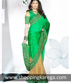 Designer Wedding Saree by shoppingkarega.com