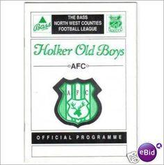 Holker Old Boys v Formby 21/09/1991 Non League Football Programme Sale