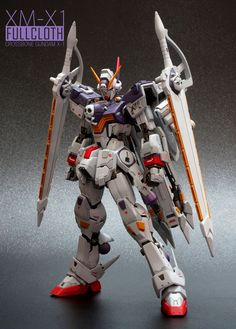 MG Gundam Crossbone XM-X1 Full Cloth by JGarage | Gundam Century
