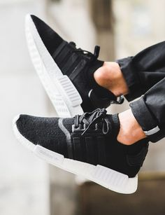 adidas Originals NMD_R1: Black || Follow @filetlondon for more street wear #filetlondon