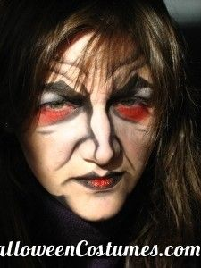 witch makeup for Halloween - Halloween Costumes 2013