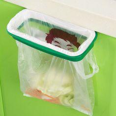 Portable Hanging Kitchen Trash Bag Garbage Home Holder Storage Rack Gadget Tools