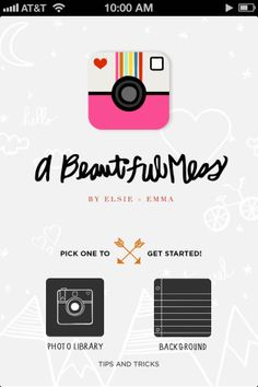 A Beautiful Mess App - photo editing for iPhone