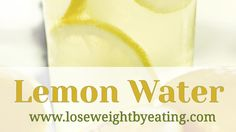 Lemon water is one of the first infused water recipes ever made and one of the most popular. It's yummy and full of healthy nutrients to help weight loss. Weight Loss Drinks, Weight Loss Smoothies, Healthy Weight Loss, Mct Oil Weight Loss, Herbal Weight Loss, Body Detox Drinks, Lemon Water Benefits, Bebidas Detox, Infused Water Recipes