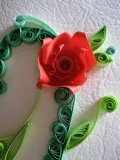 quilling... whatever that is...