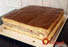 To je nápad! Hungarian Cake, Hungarian Recipes, Sweet Desserts, Sweet Recipes, Czech Recipes, Ethnic Recipes, Pavlova, Desert Recipes, Nutella
