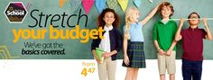 Shop Uniforms, Bundles + More Back to School Savings Online from Walmart - http://www.pinchingyourpennies.com/shop-uniforms-bundles-more-back-to-school-savings-online-from-walmart/ #Backtoschool, #Uniforms, #Walmart