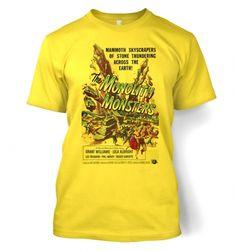 Monolith Monsters men's t-shirt