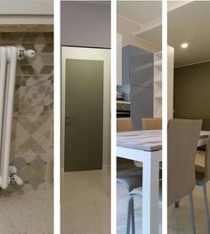 Newly renovated apartment - arch Michela Pasquarelli Bathroom Lighting, Arch, Interior Design, Mirror, Furniture, Home Decor, Bathroom Light Fittings, Nest Design, Bathroom Vanity Lighting