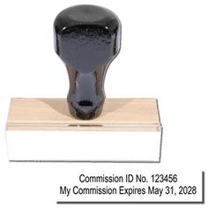 Regular Commission Number & Expiration Stamp - Notary Supply Did you know every state's notarial laws are different? We can help you with supplies! Click here to order a Regular *Commission *Number & *Expiration *Stamp!