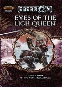 EBERRON: Eyes of the Lich Queen (3.5) - Eberron | Dungeons & Dragons | Dungeons and Dragons | D&D | DND | 3.5 | 3.0 | 3.x | Cover Art