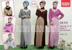 Baju Gamis Muslim GA010