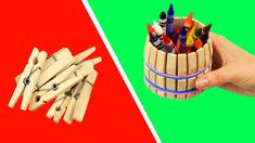 8 Clothespin Life Hacks You Should Try Wooden Clothespin Crafts, Wooden Clothespins, Clothespin Picture Frames, Painted Clothes Pins, Clothes Clips, Reindeer Craft, Craft Stick Crafts, Craft Sticks, Diy Coasters
