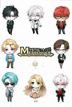 Continuation of this post if you want to find more official info of the characters of Mystic Messenger from the newly-restocked RFA VIP Package. There are a lot of images under. Mystic Messenger Yoosung, Mystic Messenger Vip Package, Mystic Messenger Characters, Zen, Pikachu, Saeran, Mini Comic, Animation, Cg Art