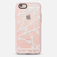 White Barb Transparent - New Standard Case  ** $10 off and FREE shipping with code 5UUFAR **