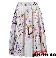 Suknje sa cvetnim motivima - Totalno moderna - moda 2015 | kupovina