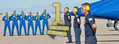 This is it, Blue Angels Fans!  After countless hours of hard work and dedication, the team is ready to kick off the season.  The team stands at the ready with only one more day until our 70th show season!  We can't wait to see you all on the flight line tomorrow!