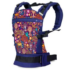 Liliputi® Buckle Carrier - Rainbow line - Magic Forest Magic Forest, Bags, Rainbow, Handbags, Rain Bow, Magical Forest, Rainbows, Bag, Totes