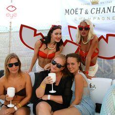 EYE at Moet Ice Launch Party at Medasia Playa #eyeapp