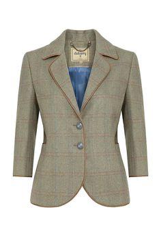 Dubarry Yarrow Cropped Tweed Blazer