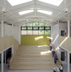 Fitzjames Teaching and Learning Centre / Feilden Fowles