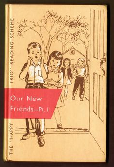 1956 Our New Friends Part I  rare Dick and Jane 1st by bookmonster, $55.00