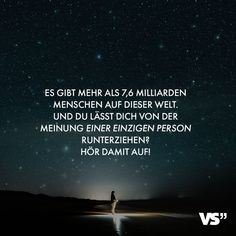 Visual Statements®️ Es gibt mehr als Millia… Motivational Images, Quotation Marks, Self Conscious, Visual Statements, Poetry Quotes, Quotes Quotes, Quote Of The Day, Quotations, Psychology