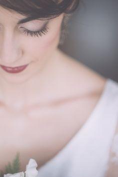 Winter wedding makeup ideas #weddingmakeup @weddingchicks