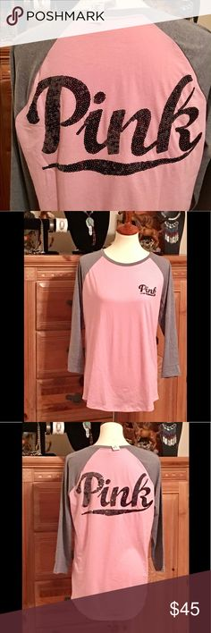 🌸 Victoria Secret PINK NWT Large 🌸 💫 NWT 💫 Removed from package for display 🌸 Sorry no trades 🌸🤠 PINK Victoria's Secret Tops Tees - Long Sleeve