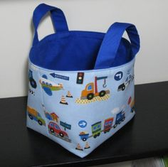 Fabric Basket - Fun Family Crafts