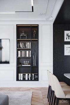 Interior Design Living Room, Living Room Designs, Interior Decorating, Modern Luxury Bedroom, Luxurious Bedrooms, Apartment Interior, Apartment Design, Modern Classic Interior, Design Case